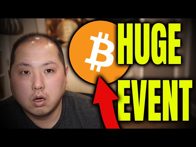 BITCOIN PUMP COMING DUE TO THIS MASSIVE EVENT!!! VERY SOON!! #Bitcoin #BTC
