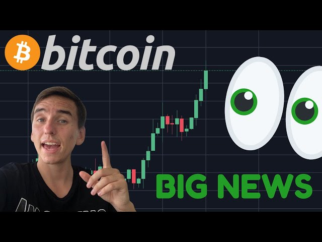 BITCOIN IS BREAKING OUT!!!!!??? HUUUUUUGE NEWS!! Central Bank Owns Bitcoin!!!!