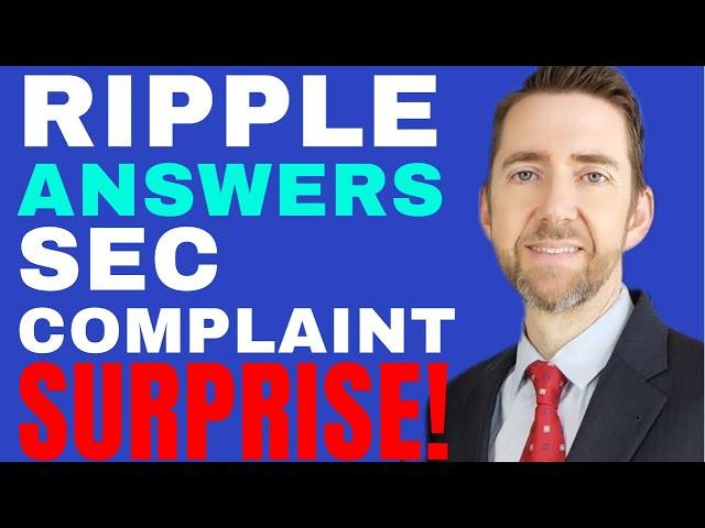 Lawyer Discusses Ripple Response to SEC Lawsuit re XRP, S… #Ripple #XRP