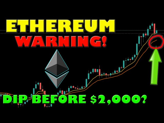 ETHEREUM DIP BEFORE PUMP BACK TO $2,000?! THESE FACTORS A… #Ethereum #ETH