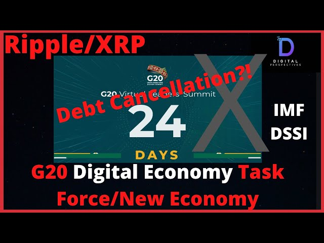 #Ripple #XRP Ripple/XRP-G20 Summit, Mass Adoption Of New Digital Assets And Debt Cancellation?