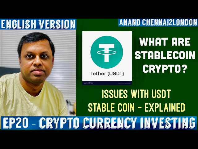EP20 Crypto Investing | Stablecoins Explained | USDT Teth… #Tether #USDT