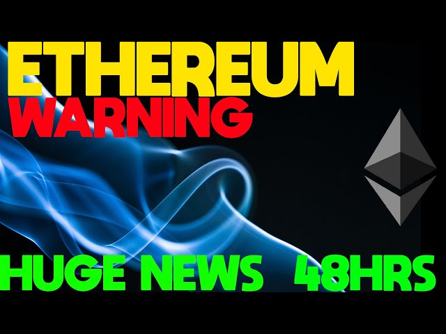 ETHEREUM NEWS – SOMETHING BIG IS ABOUT TO HAPPEN! #Ethereum #ETH