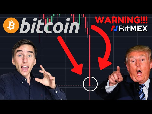 #Bitcoin #BTC BITCOIN COLLAPSING RIGHT NOW! DONALD TRUMP HAS COVID-19! BITMEX NEWS!