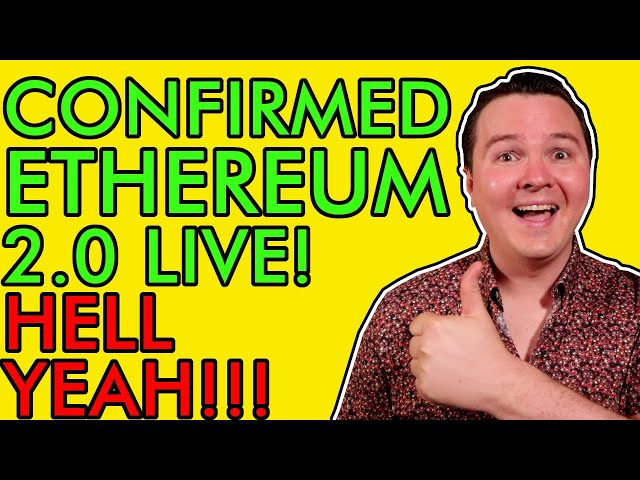 #Ethereum #ETH Ethereum Ready to EXPLODE! ETH 2.0 Confirmed! Holders Must Watch This Before December 1st! [wow]