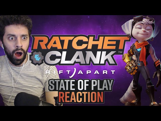 Ratchet Speedrunner Reacts to Rift Apart State of Play Tr… #NEM #XEM