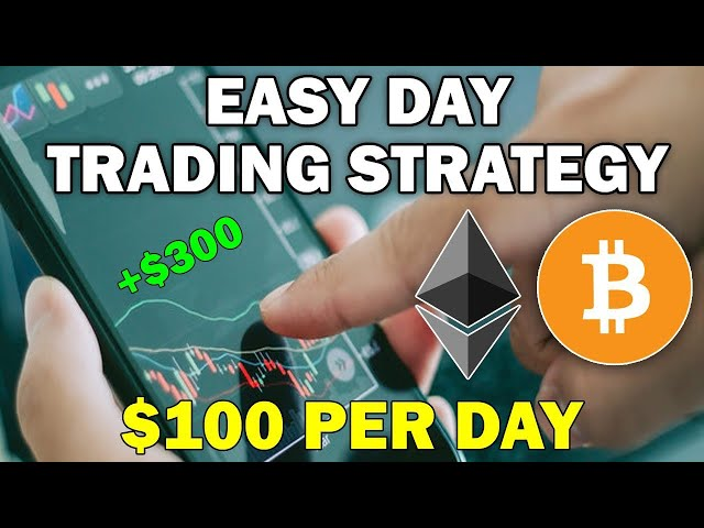 Easy Day Trading Strategy Anyone Can Learn | Cryptocurrency Tutorial