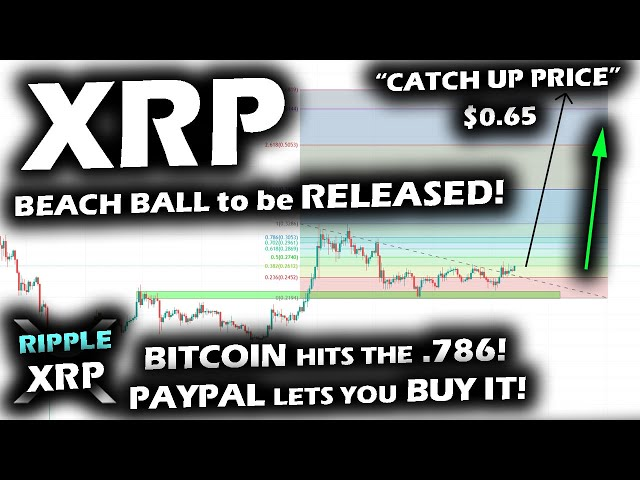 #Ripple #XRP TURNING GREEN for the Ripple XRP Price Chart as TARGET REACHED FOR BITCOIN and BIG PAYPAL NEWS