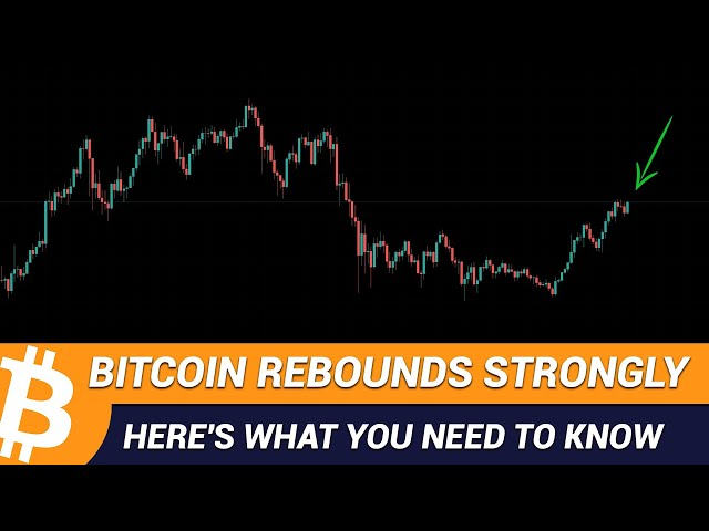 Bitcoin Rebounds Strongly | Here's What You Need To Know #btc